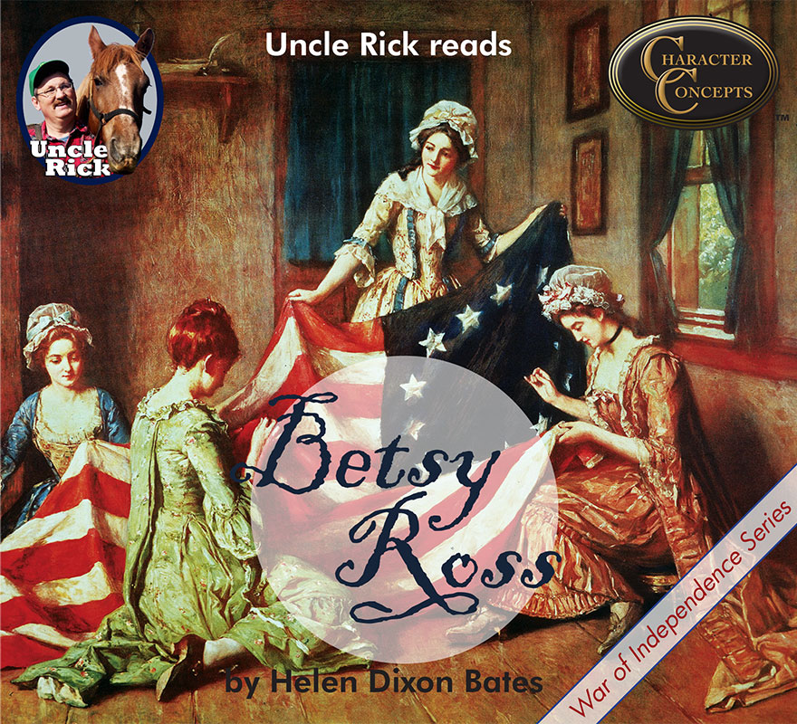 Uncle Reads Betsy Ross