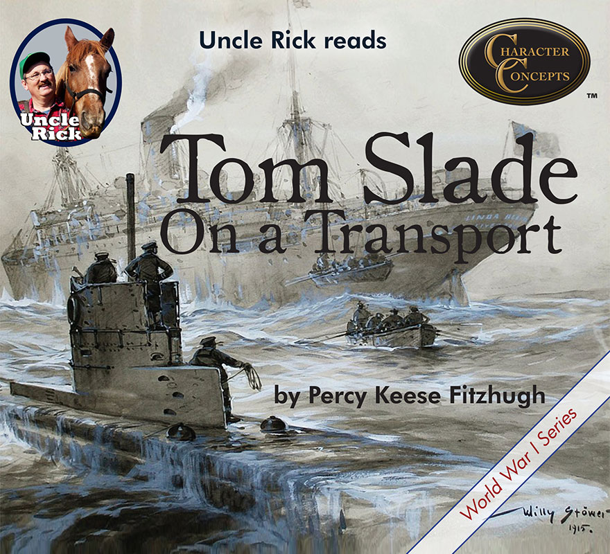 Uncle Rick Reads Tom Slade on a Transport