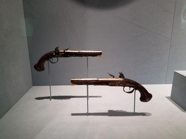 Lafayette's Pistols