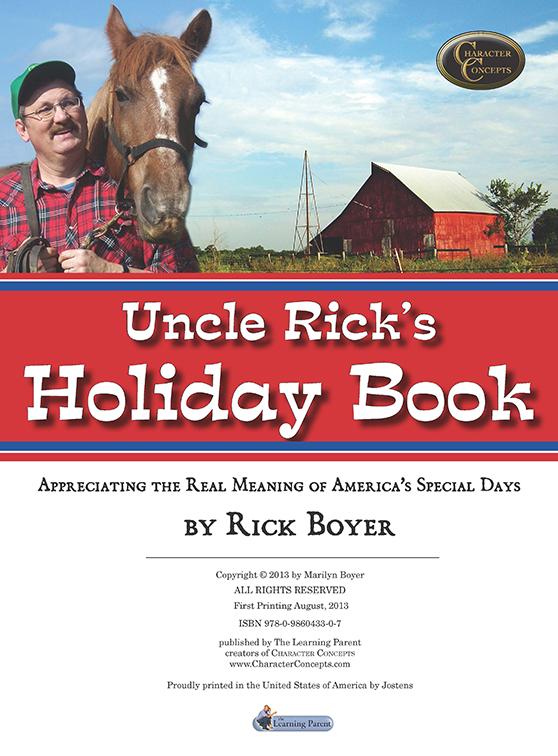 Uncle Rick's Holiday Ebook