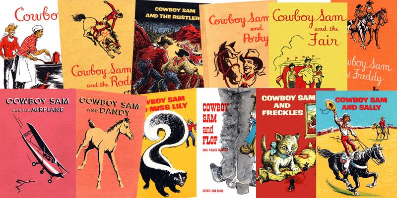 Cowboy Boy Sam 12 Reader Collection